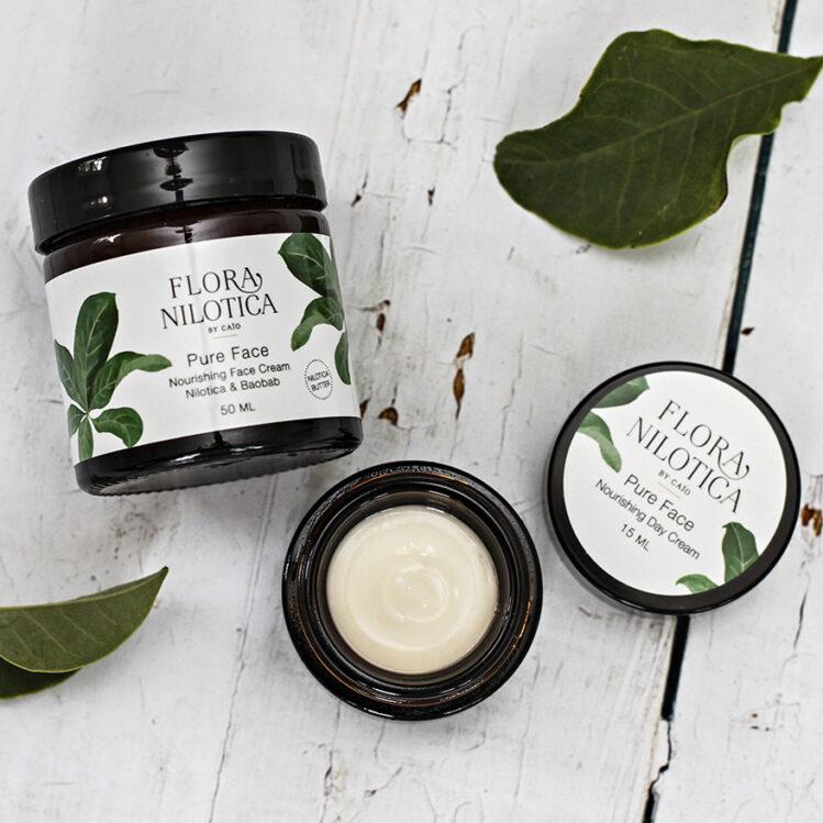 Flora Nilotica emballagedesign af Ann Christina Lykke ved A FAIR AGENCY